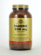 Taurine 500 mg