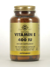 Natural Vitamin E Dry 400 IU