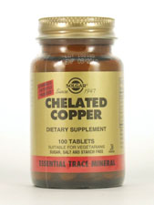 Chelated Copper 2.5 mg