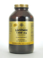 Natural Soya Lecithin 1,360 mg