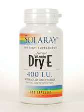 Natural Vitamin Dry E 400 IU