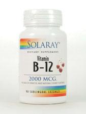 Vitamin B-12 2,000 mcg