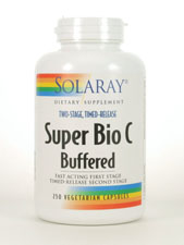 Two-Stage, Timed-Release Super Bio C Buffered 500 mg