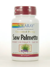 Saw Palmetto Berry Extract 160 mg