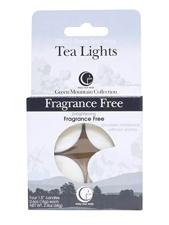 Fragrance Free Tea Lights - 4 Pack
