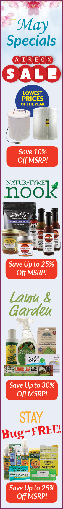 May NEEDS Monthly Specials Sale