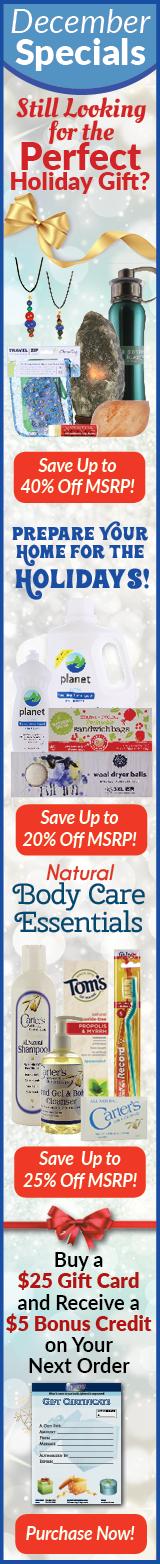 December NEEDS Monthly Specials Sale
