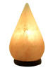 Tear Drop Shaped Crafted Salt Lamp