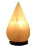 Tear Drop Shaped Crafted Salt Lamp