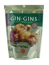 Gin-Gins Chewy Ginger Candy