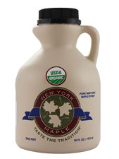 Pure Maple Syrup NY Grade A Dark Color
