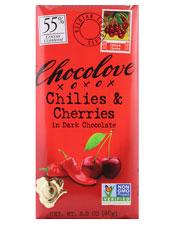 Chilies & Cherry Dark Chocolate  Bar