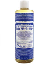 18-in-1 Hemp Peppermint Pure-Castile Soap