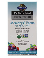 Memory & Focus for Adults 40+