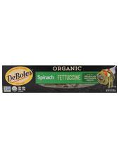 Organic Spinach Fettucine