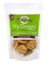 Paw Print Cookies Apple Honey