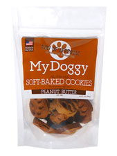 Paw Print Cookies Peanut Butter