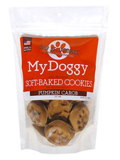 Paw Print Cookies Pumpkin Carob