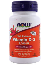 High Potency Vitamin D-3 2,000 IU
