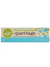 Reclosable Quart Size Storage Bags
