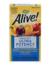 ALIVE! Once Daily Men's 50+ Ultra Potency