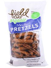 Organic Mini Pretzel Rods