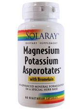 Magnesium Potassium Asporotates with Bromelain