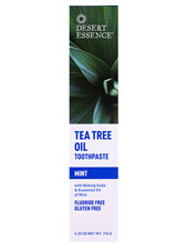 Tea Tree Oil Toothpaste w/ Baking Soda & Mint