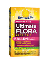 Women's Care Ultimate Flora 15 Billion Go Pack