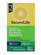 Ultimate Flora Adults 50+  Probiotic Go Pack