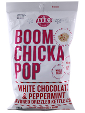 White Chocolate and Peppermint Kettle Corn
