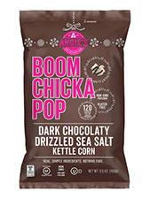 Dark Chocolatey Drizzled Sea Salt Kettle Corn
