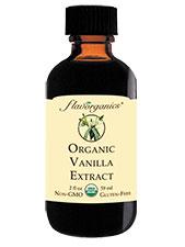 Pure 100% Organic Vanilla Extract