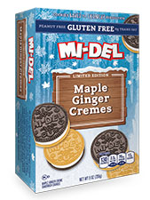 Maple Ginger Creme Cookie Gluten Free