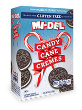 Candy Cane Cremes Gluten Free