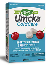 Umcka ColdCare Cherry Chewable