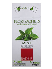 Vegan Mint Floss Sachet
