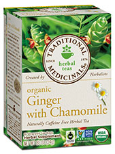 Ginger with Chamomile Tea