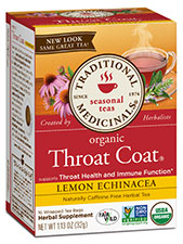 Lemon Echinacea Throat Coat Tea