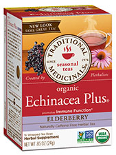 Echinacea Plus Elderberry Tea