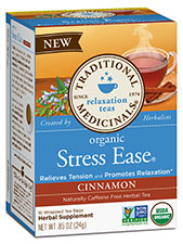 Organic Stress Ease Cinnamon Tea