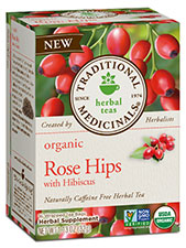 Organic Rose Hips with Hibiscus Tea