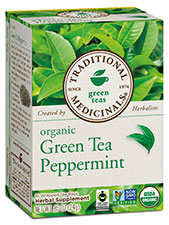 Organic Green Peppermint Tea