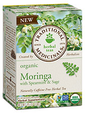 Organic Moringa With Spearmint & Sage Tea