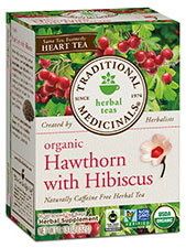 Organic Hawthorn With Hibiscus