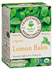 Organic Lemon Balm Tea