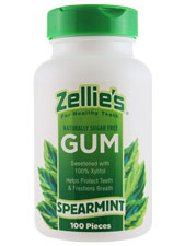 Zellie's Gum Spearmint