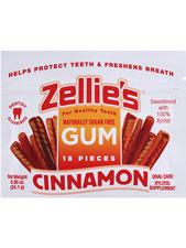 Cinnamon Gum Resealable Pouch