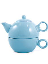 One Teapot and One Cup Tea For Me Pot