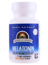 Melatonin 1 Mg Orange Flavor